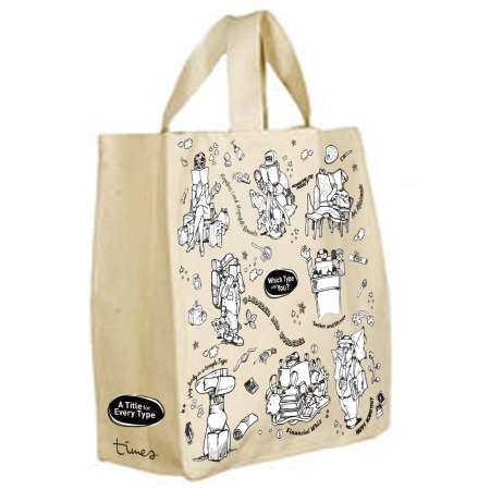 #03-07 Times Bookstores Free Tote Bag with min. $60 spent