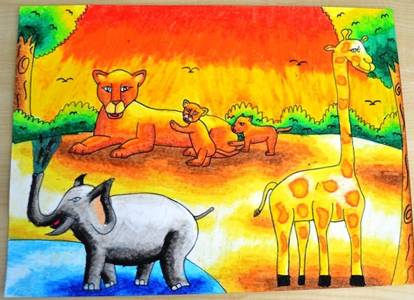Wildlife Art Contest: 1st Prize