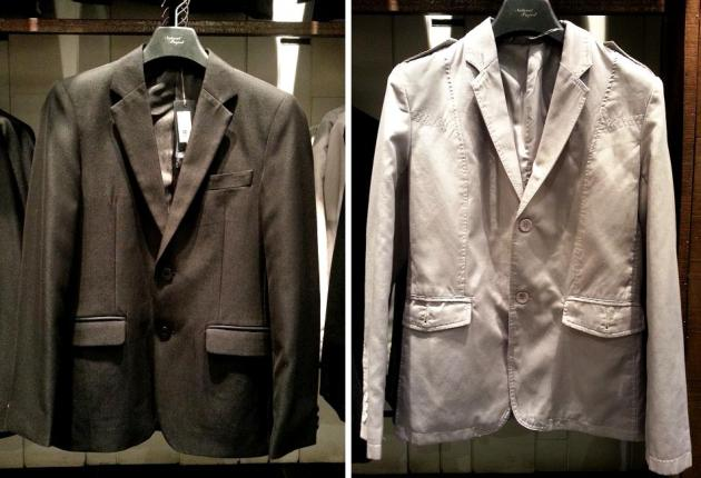 Black Blazer   $199    Grey Blazer   $109  (Natural Project #02-17)