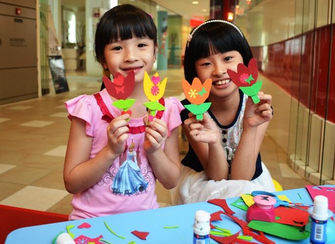 June Holidays Kids Craft Workshops Tampines 1 Mall Blog
