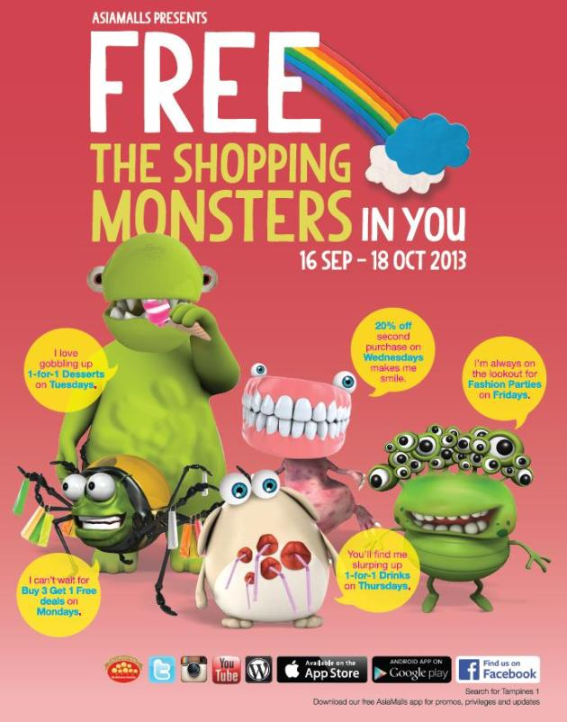 Tampines 1 Shopping Monsters 1